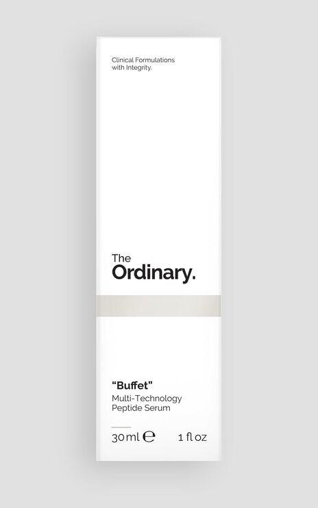 "The Ordinary - ""Buffet"" - 30ml in Black"