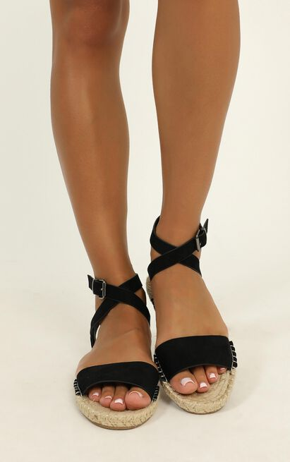 Verali - Enya Sandals in black micro - 10, Black, hi-res image number null