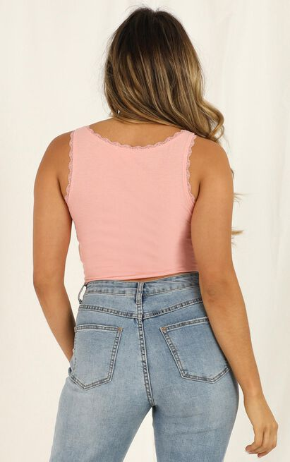 Problem Child Top In blush - 12 (L), Blush, hi-res image number null