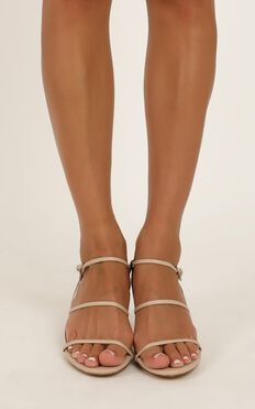 Therapy - Jazzie Heels In Nude