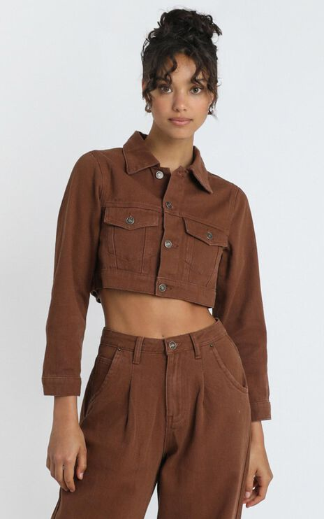 Lioness - The Mickey Jacket in Brown