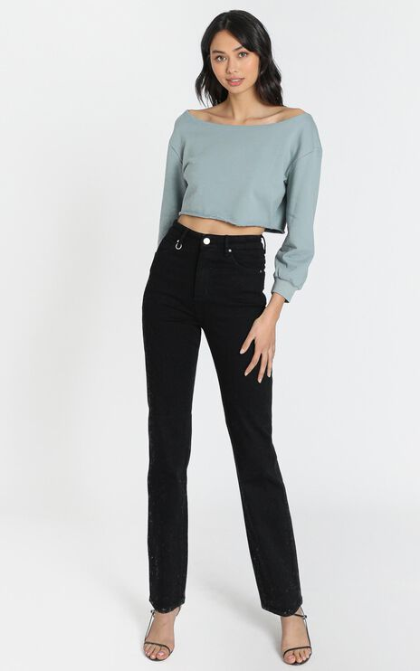 Neuw - Marilyn Straight Jeans in Zero All Nighter