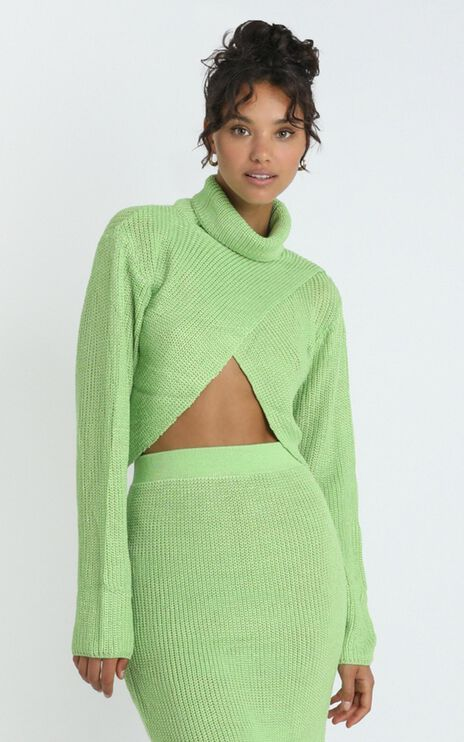 Edwynna Jumper in Green