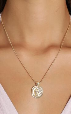 Minc Collections - Tusk Pendant Necklace In Gold