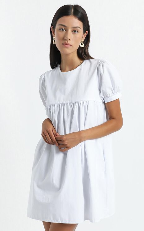 Gyda Dress in White