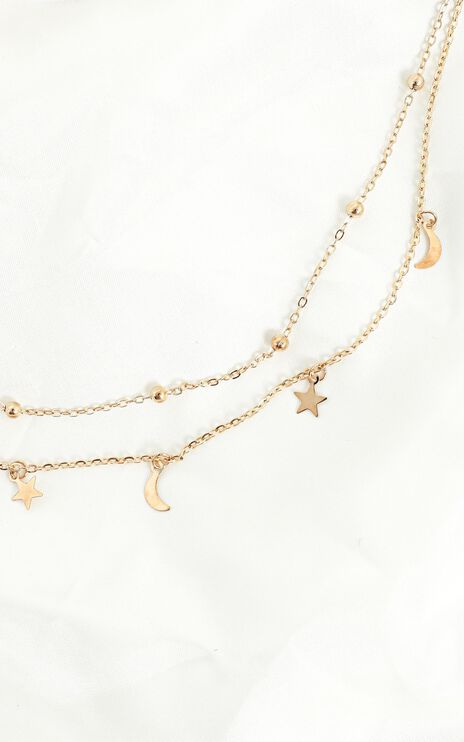 Peaceful Moments Necklace in Gold