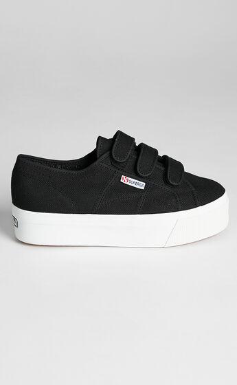 Superga - 2790 Straps Sneakers in F83 Black