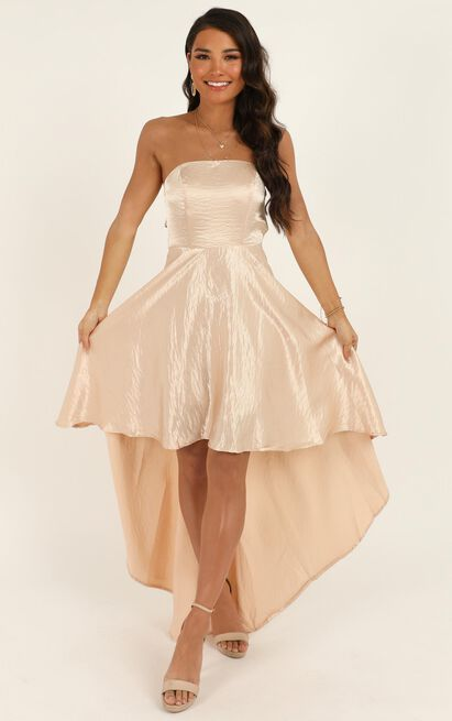 Well to Do Dress In blush sequin - 12 (L), Blush, hi-res image number null