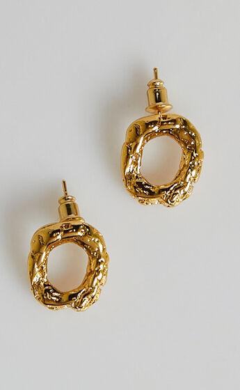 Twila Earrings in Gold