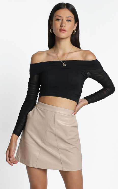 Plan Ahead Top in Black