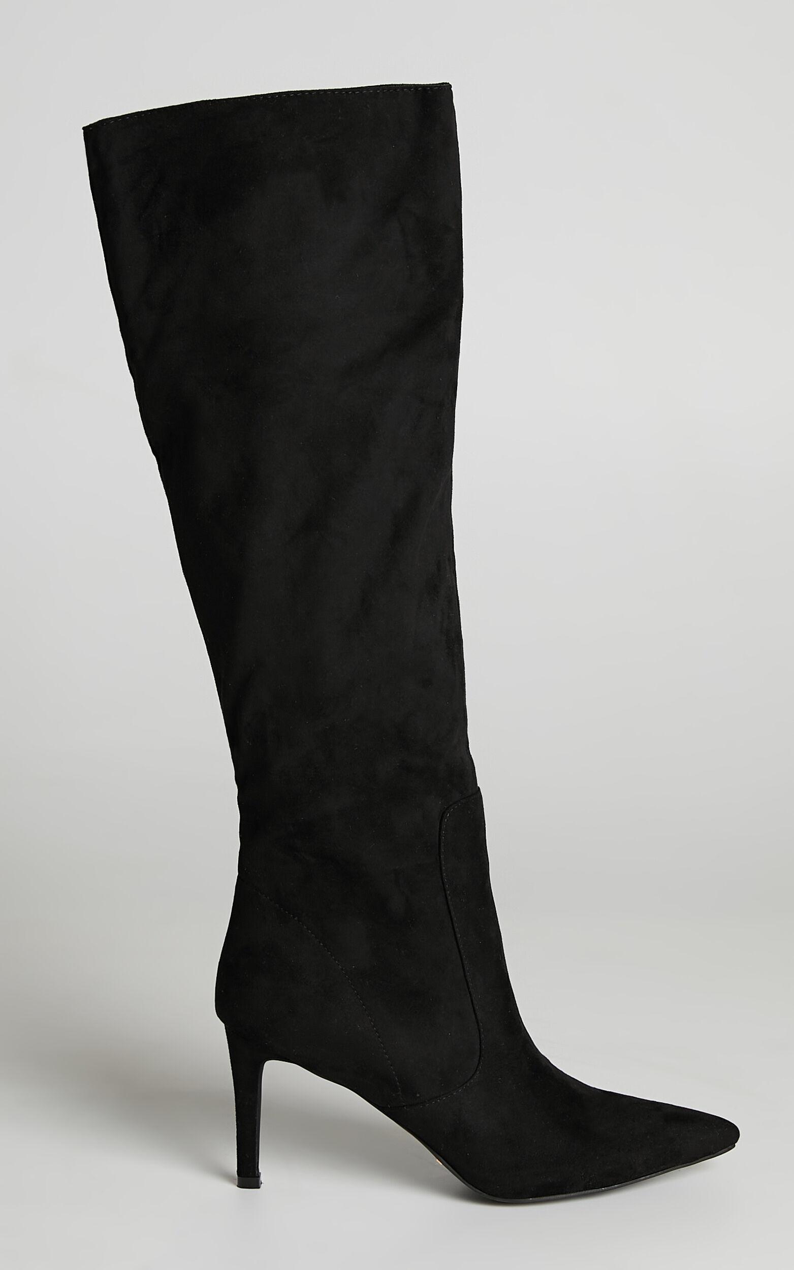 Billini - Britney Boots in Black Suede - 05, BLK2, super-hi-res image number null