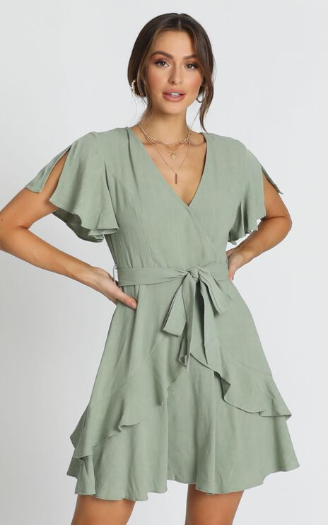 Treat You Right Dress In Green