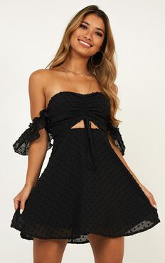Take Flight Dress In Black