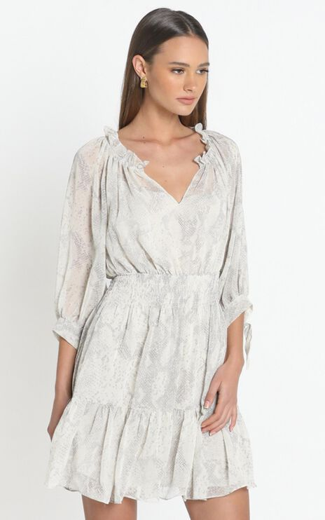 Janice Dress in White