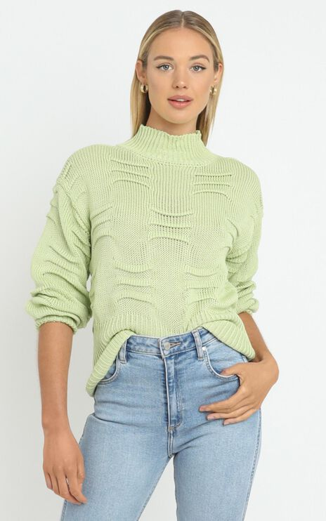 Laura Knit in Green