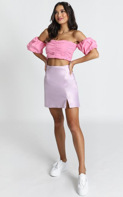 Zariah Crop Top in pink - 14 (XL), Pink, hi-res image number null
