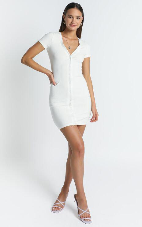 Missouri Dress in White