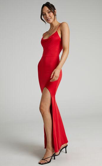 Tasteful Dress in Red