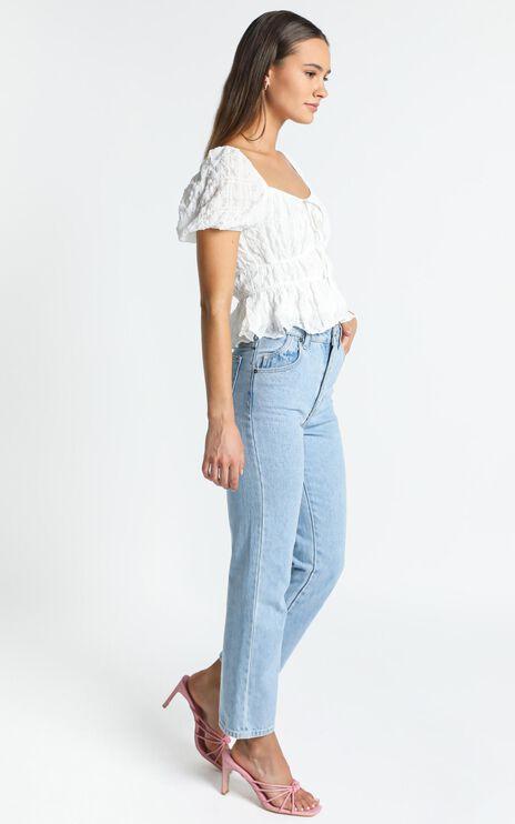 Violette Top in White