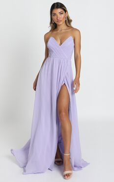 Harper Maxi Dress In Lavender