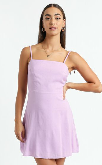 Afternoon Glow Dress in Lilac