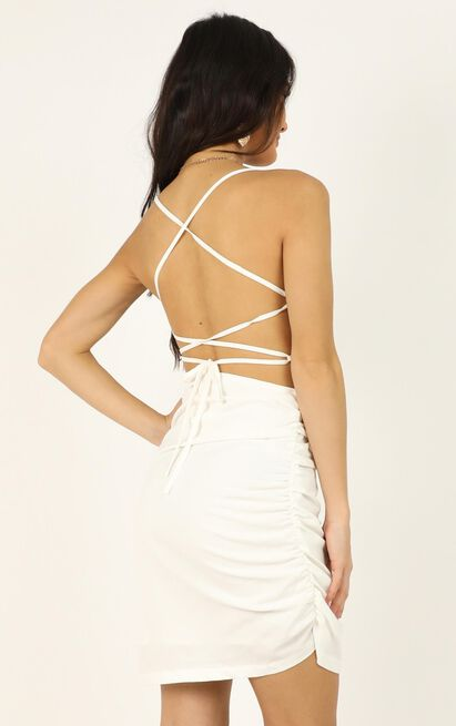 Closer To Me dress in white - 20 (XXXXL), White, hi-res image number null