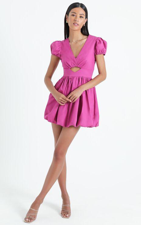 Cherwell Dress in Purple