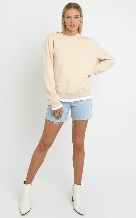 Terry Sweater in Beige