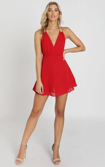 Ill Give You All The Love Dress In red - 20 (XXXXL), Red, hi-res image number null