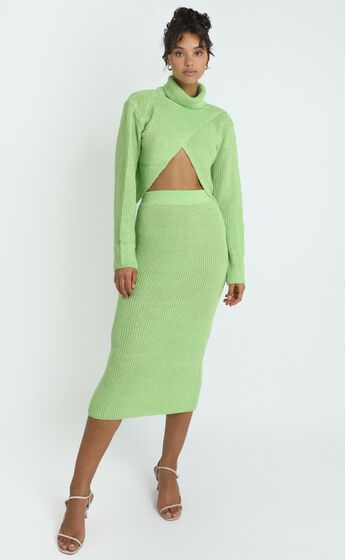 Edwynna Skirt in Green