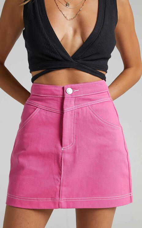 Dagmar Skirt in Pink