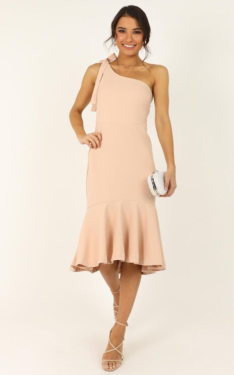 Its Real Dress In Blush