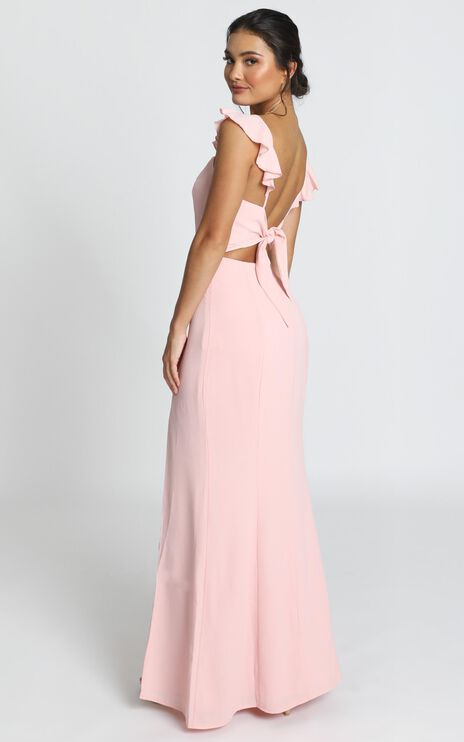 More Than This Dress In Blush