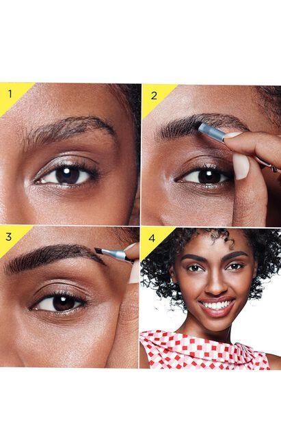 Benefit - Ka-BROW! Eyebrow Cream-Gel Colour In 4 - Warm Deep Brown, Brown, hi-res image number null