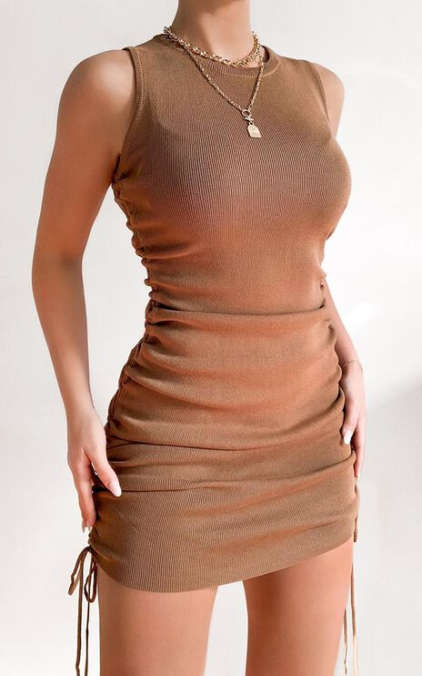 Lioness - Military Minds Dress in Tan