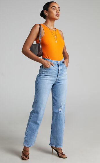 Levis - Ribcage Straight Jean in Samba Done