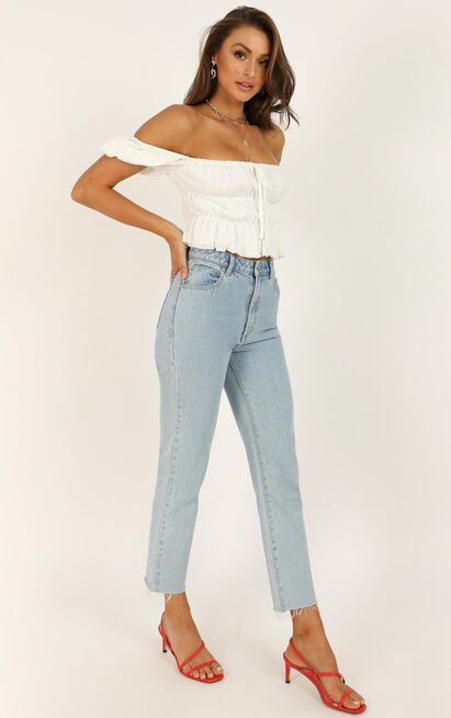 Abrand - A '94 High Slim Jeans in walk away - 14 (XL), Blue, hi-res image number null