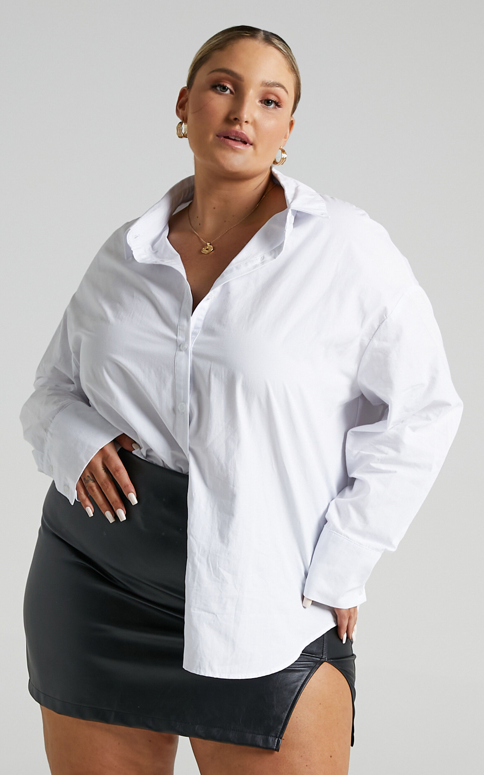 Terah Shirt in White - 04, WHT5, super-hi-res image number null