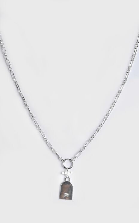 Minc Collections - Escape Chain Necklace in Silver