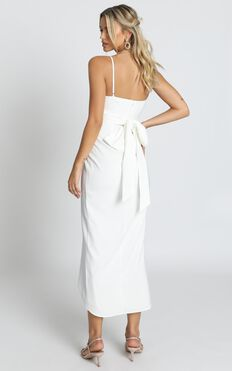 How Will I Know Dress In White