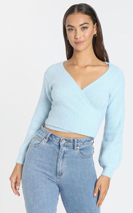 Peigi Knit in Pale Blue