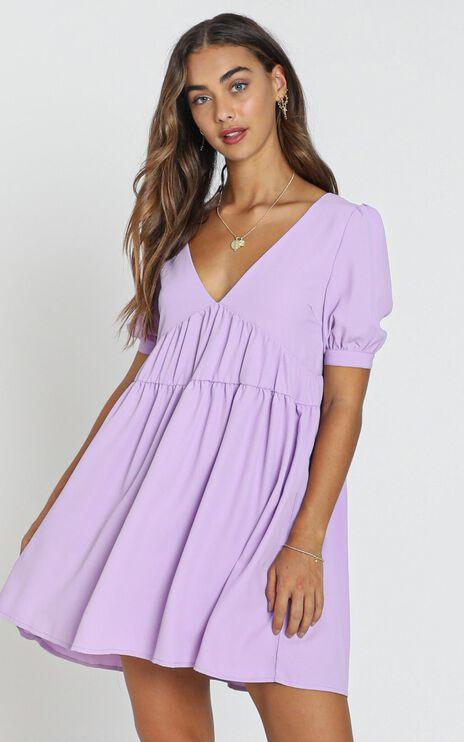 Hermione Dress in Purple