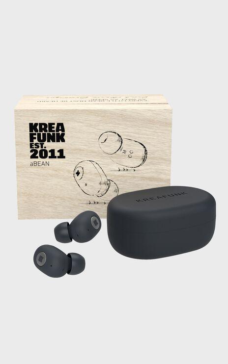 Kreafunk - aBean Headphones in Black