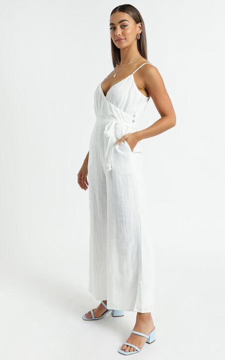 Farah Jumpsuit in White