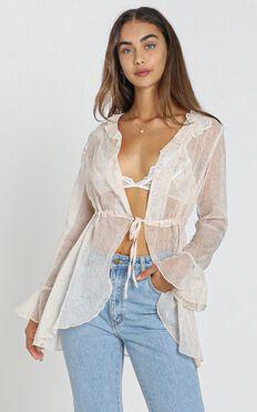 ZYA The Label - Kasia Shirt in White