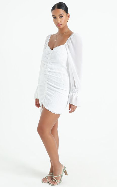 Propoganda Dress In White Floral