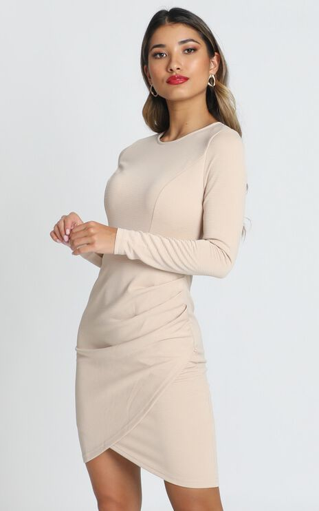 No Rain Dress in Beige