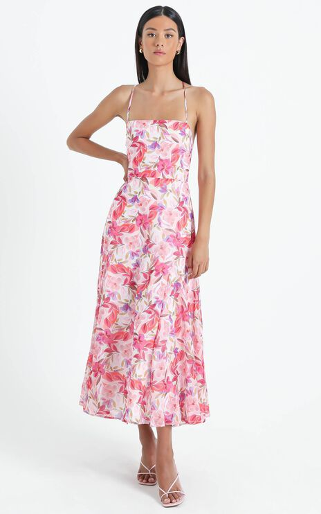 Melvin Dress in Eventful Bloom