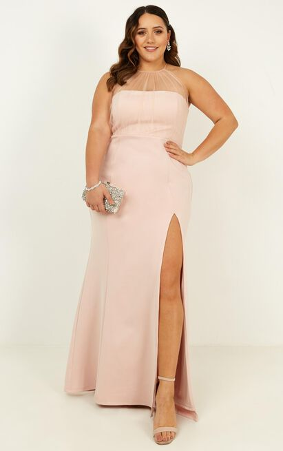 Still Love You Dress in blush - 14 (XL), Blush, hi-res image number null