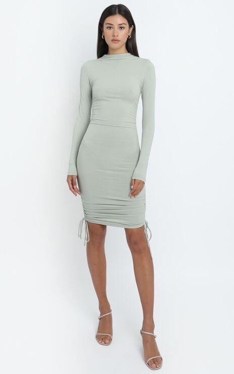 Iris Dress in Sage